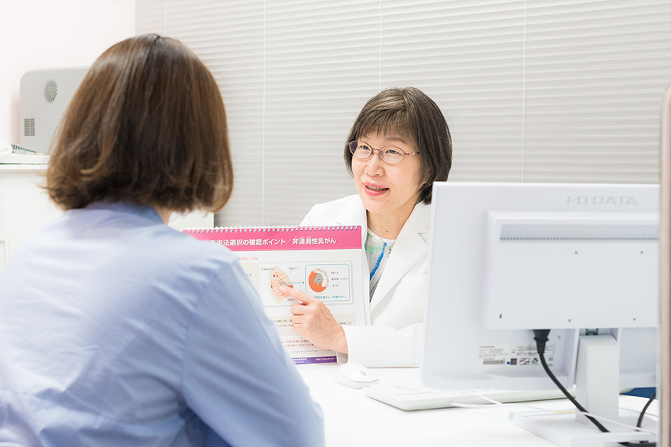 遺伝生乳がんにかんする遺伝カウンセリング