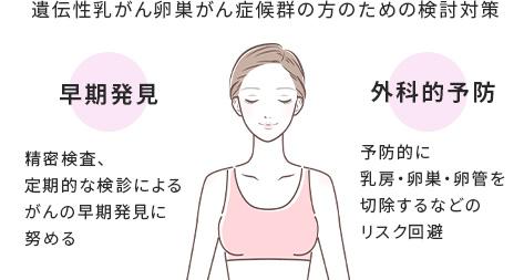 遺伝性乳がん卵巣がん症候群の方へ