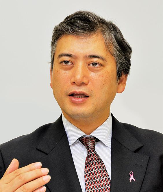 ブレストセンター長 乳腺外科教授 中村 清吾